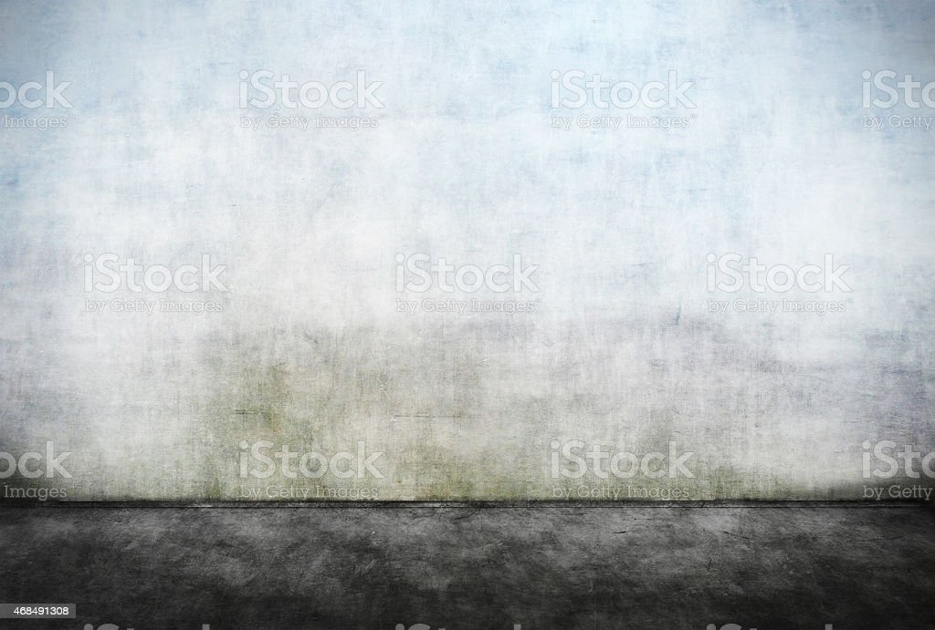 Abstract empty dirty wall stock photo