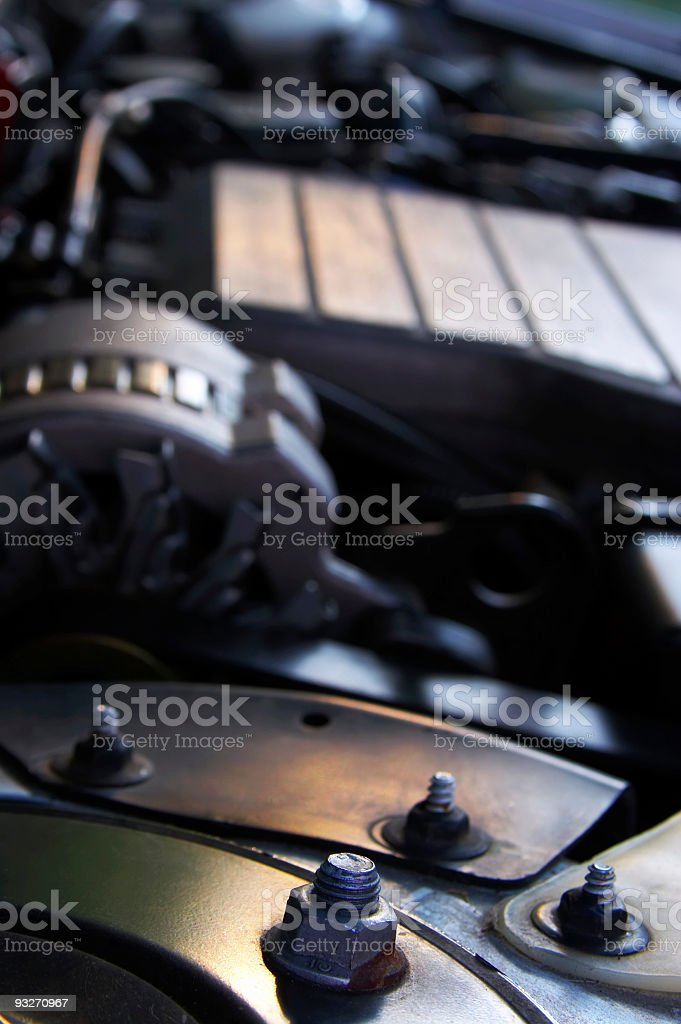 Abstract Engine royalty-free stock photo