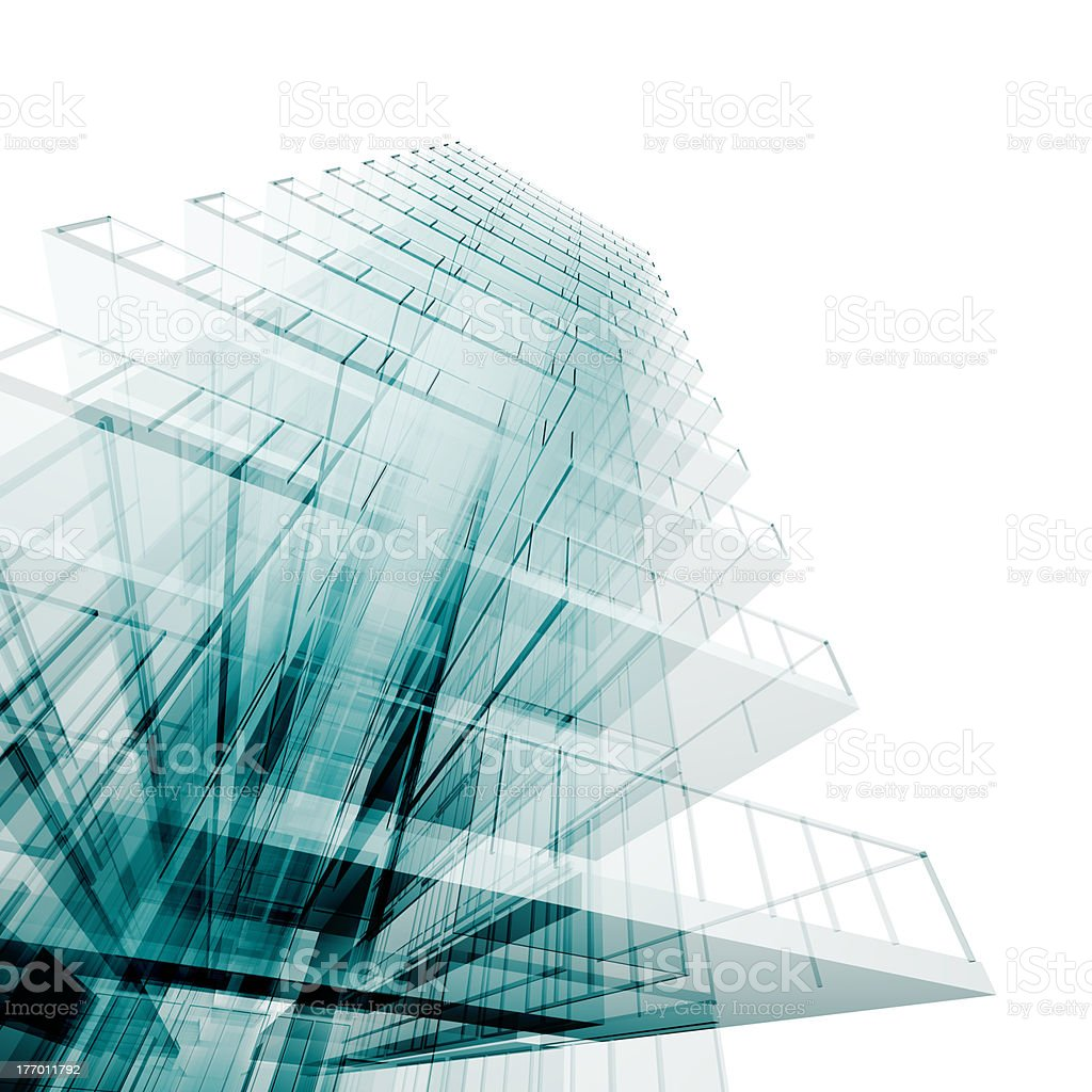 Abstract engineering royalty-free stock photo