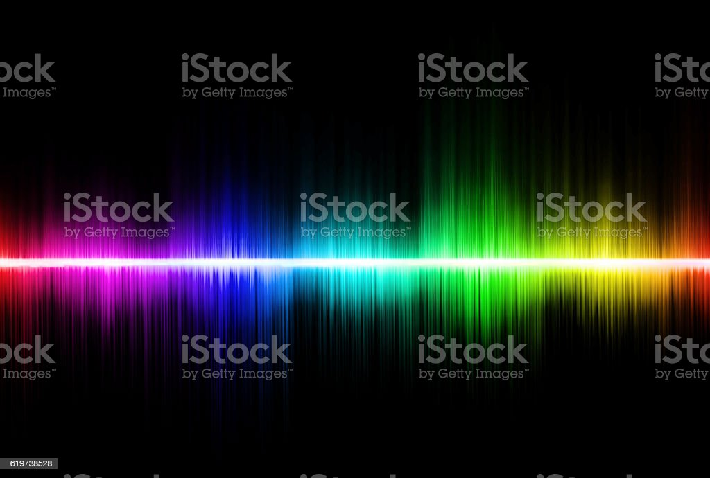 Abstract equalizer background. Colorful wave stock photo