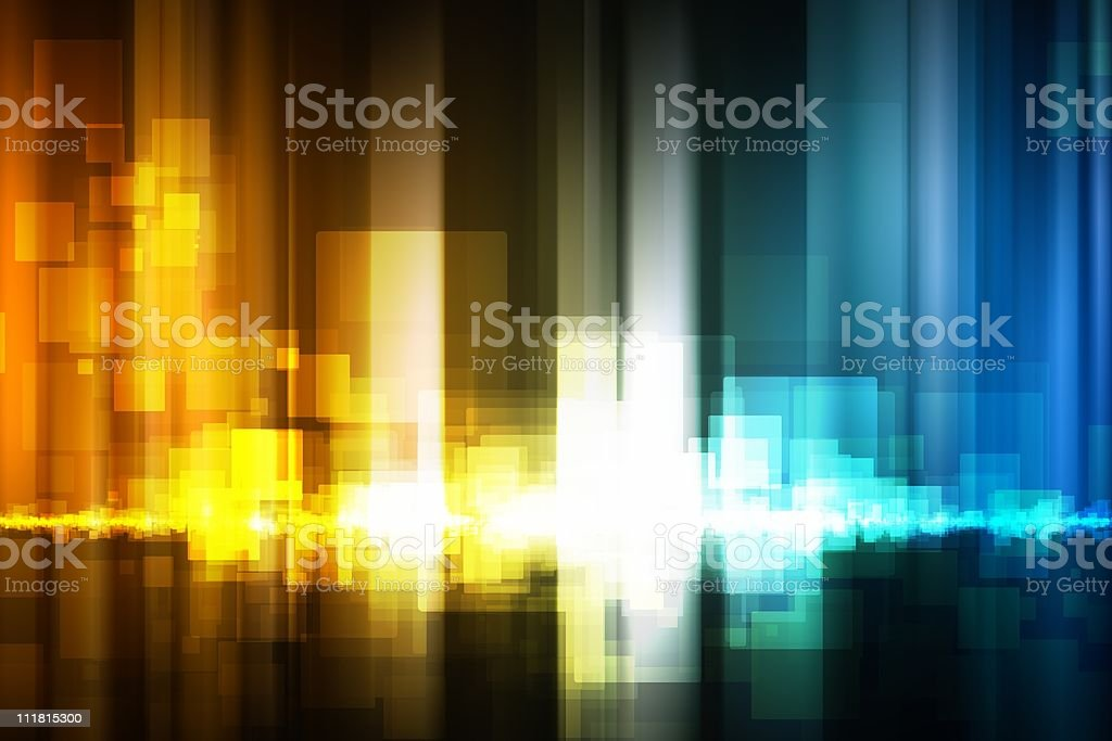 Abstract equalizer indicator royalty-free stock photo