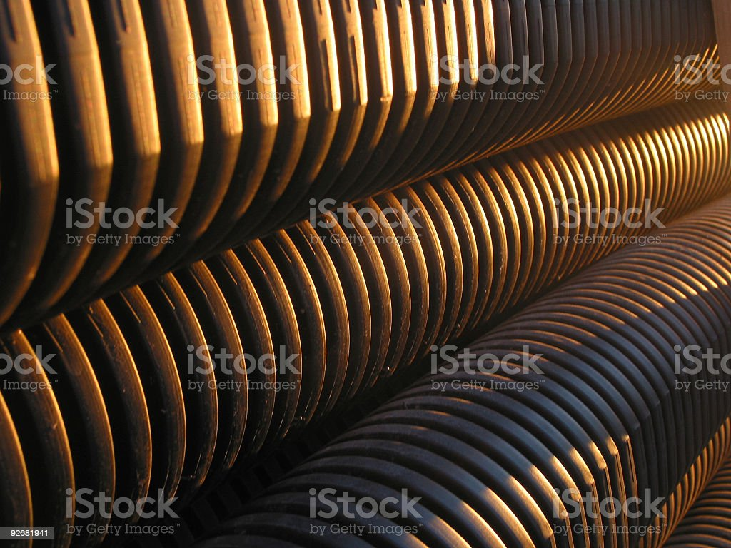 Abstract, evening sun royalty-free stock photo