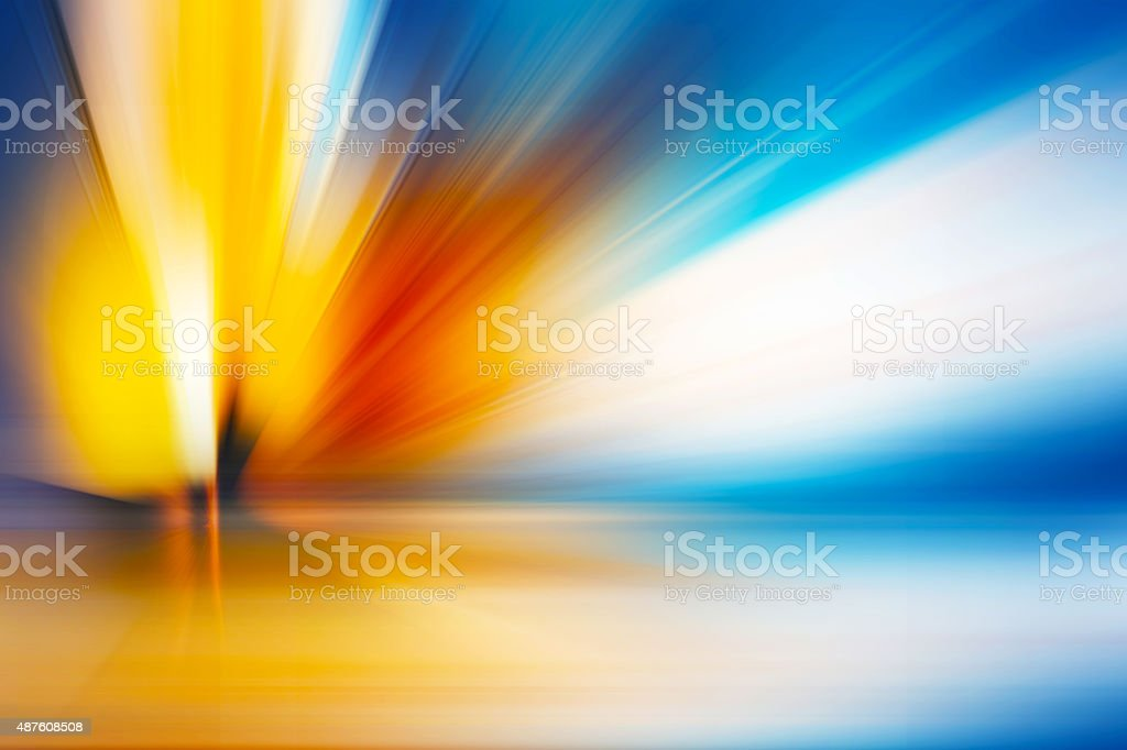 Abstract explosion background for design, Beautiful rays of ligh vector art illustration