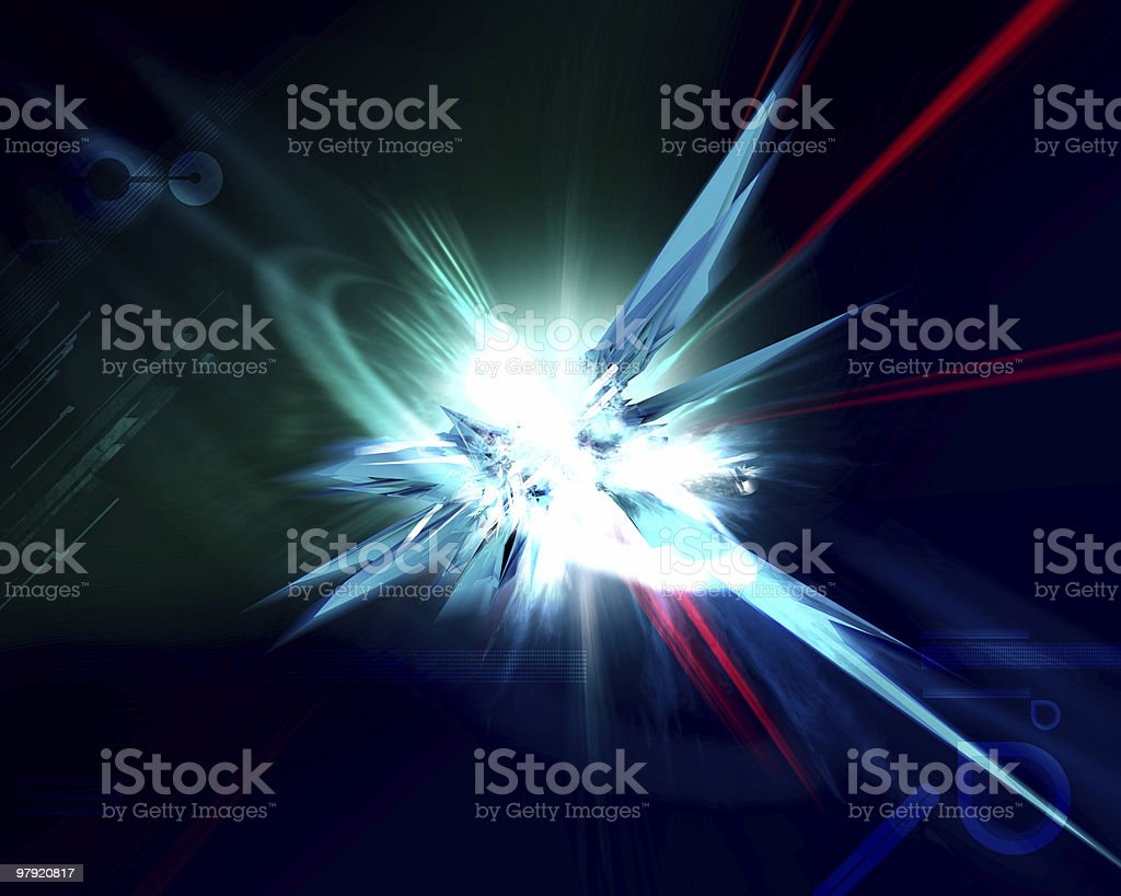 abstract explosion royalty-free stock photo