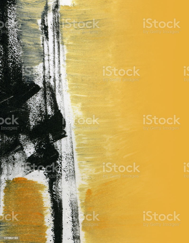 Abstract Expressionistic 2 stock photo