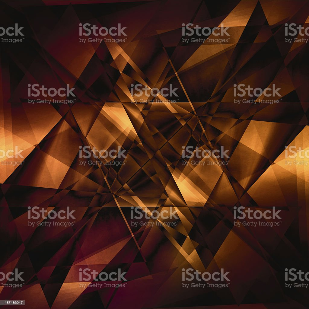 Abstract facet background stock photo