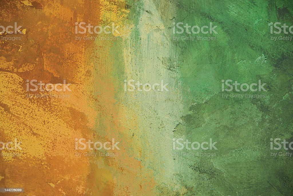 Abstract faded painted stucco wall royalty-free stock photo