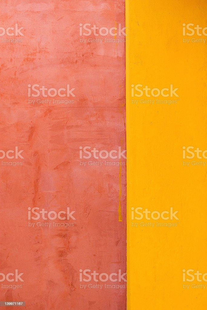 Abstract faded painted wall stock photo