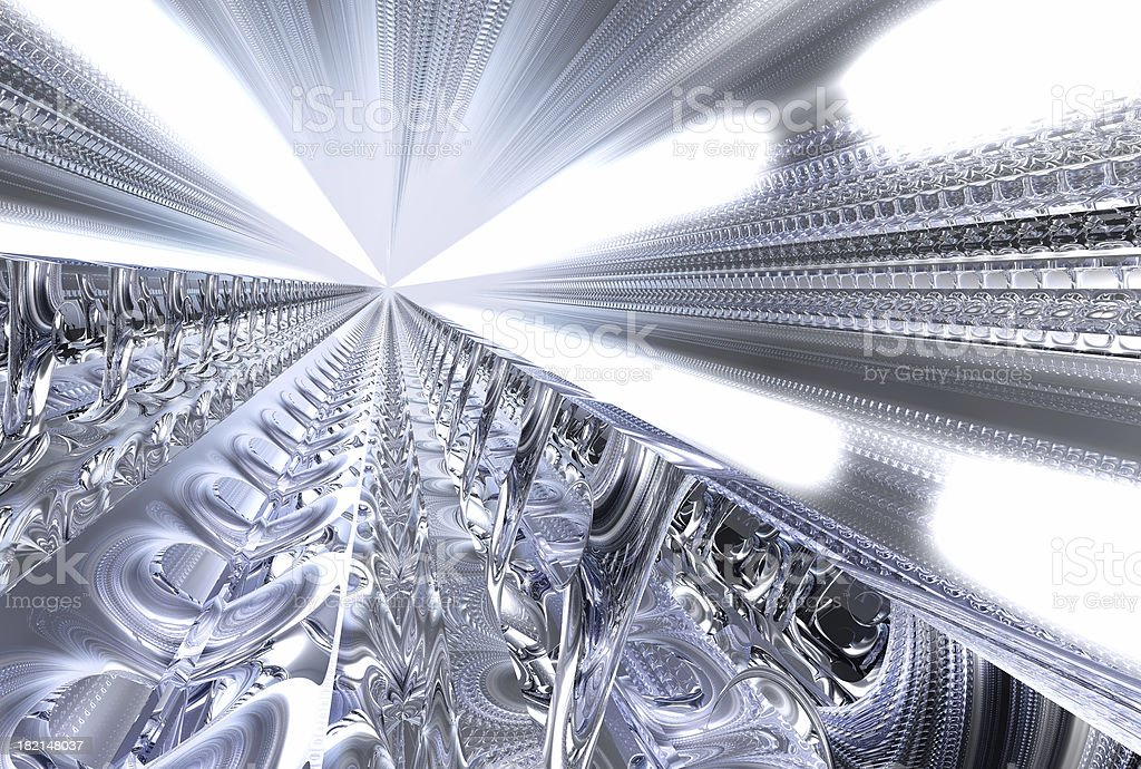Abstract fast connection 102 royalty-free stock photo