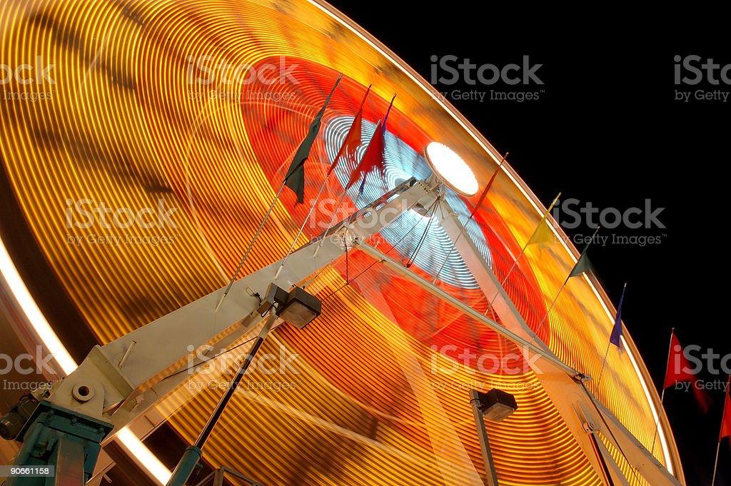 Abstract Ferris wheel royalty-free stock photo