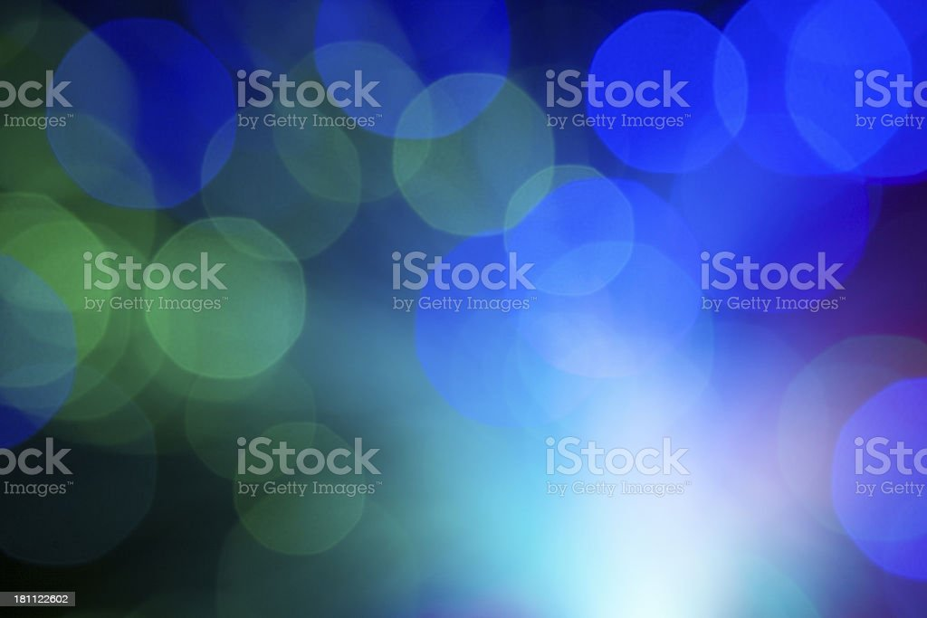 Abstract fiber optics lights royalty-free stock photo