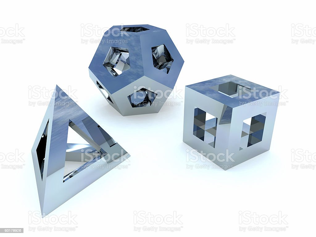 abstract figures royalty-free stock photo
