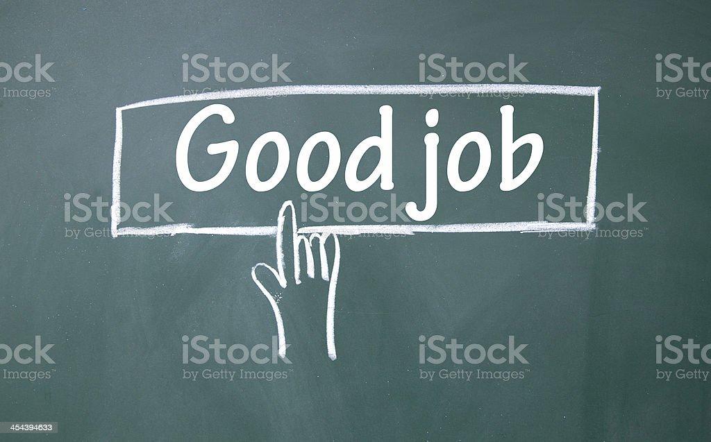 abstract finger click good job sign stock photo