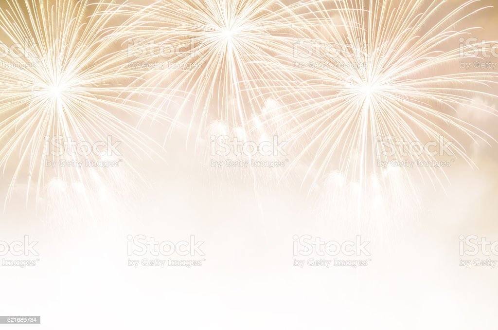 Abstract fireworks stock photo