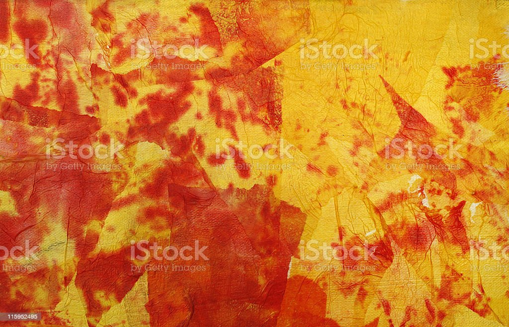 Abstract flamy background royalty-free stock photo