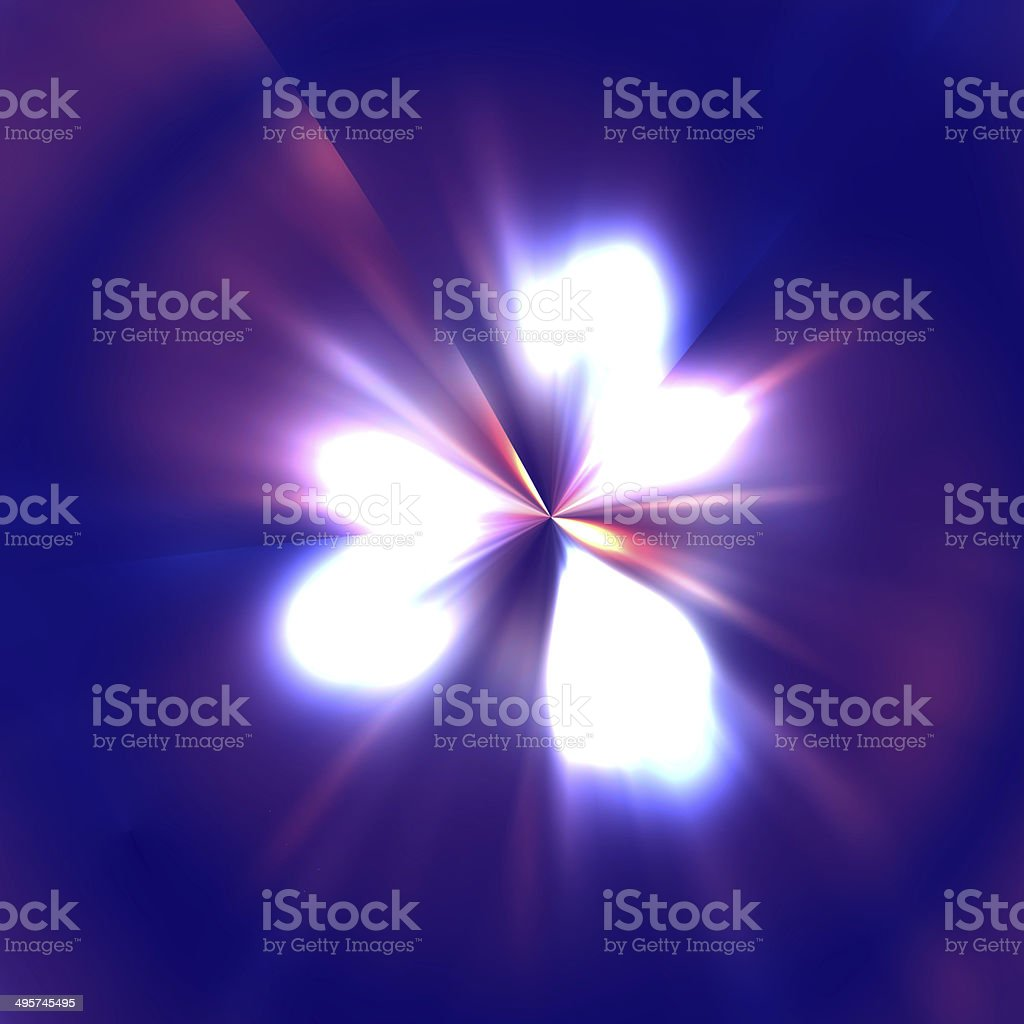 Abstract flare stock photo