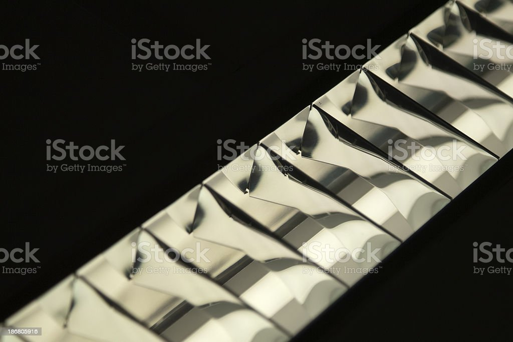 Abstract - Florescent Tube ballast (XL) royalty-free stock photo