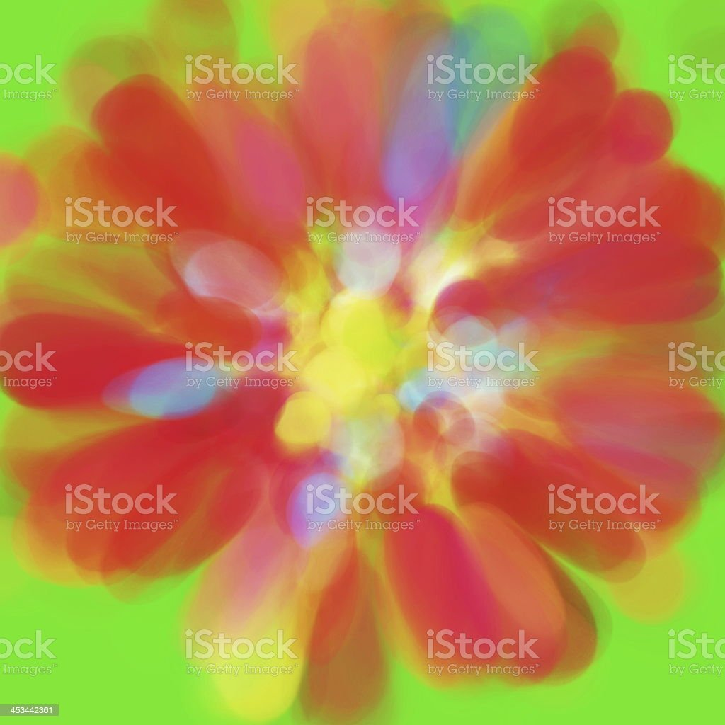 Abstract Flower Background royalty-free stock photo
