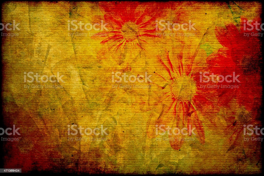 abstract flower paper background texture stock photo