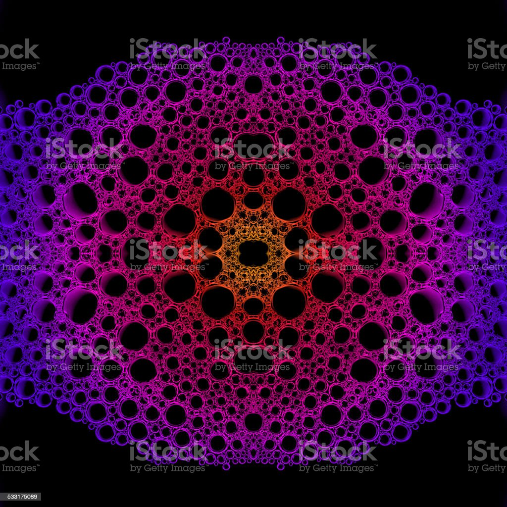 abstract Foamy bubbly water texture background stock photo