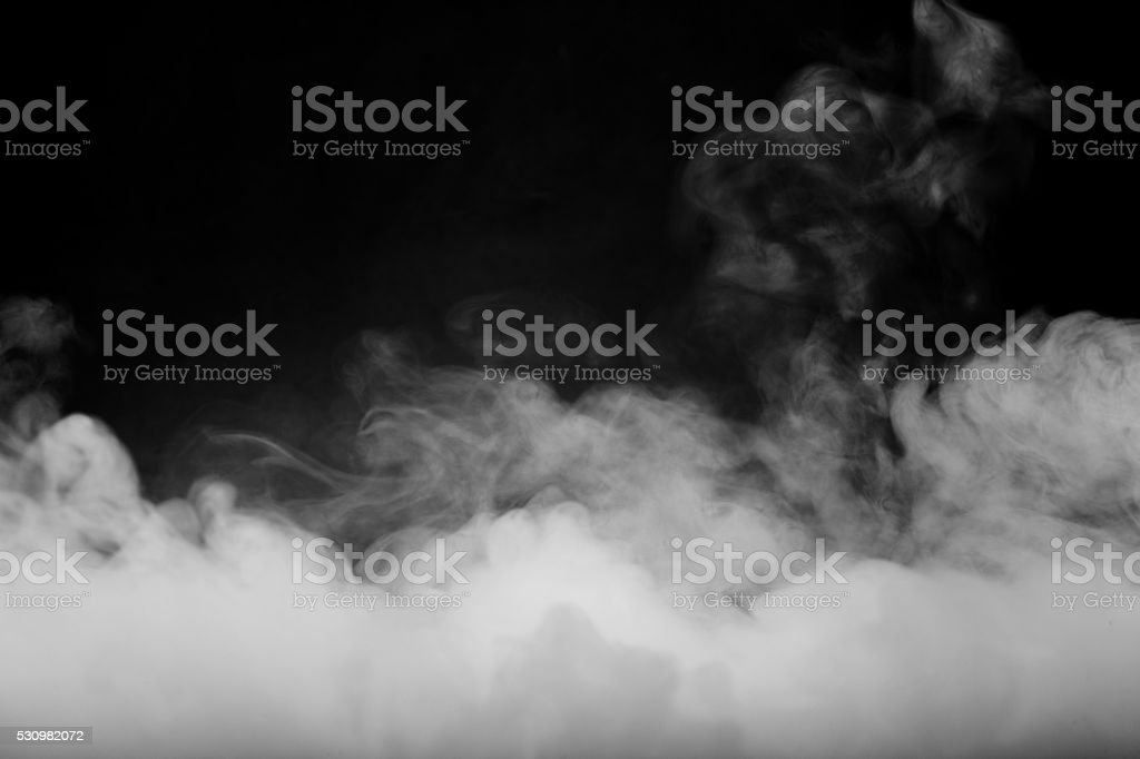 Abstract fog and smoke on dark color background stock photo