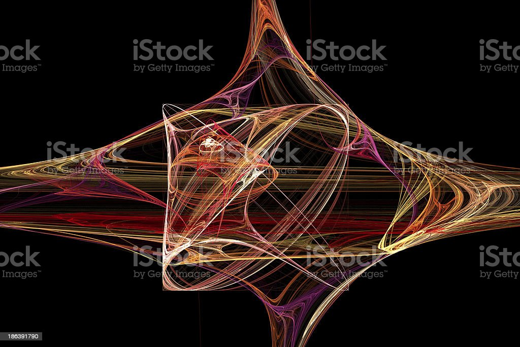 Abstract fractal background royalty-free stock photo