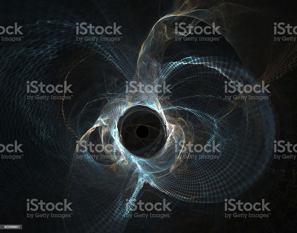 Abstract fractal design royalty-free stock photo