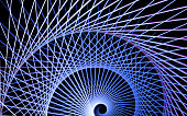 abstract fractal shape