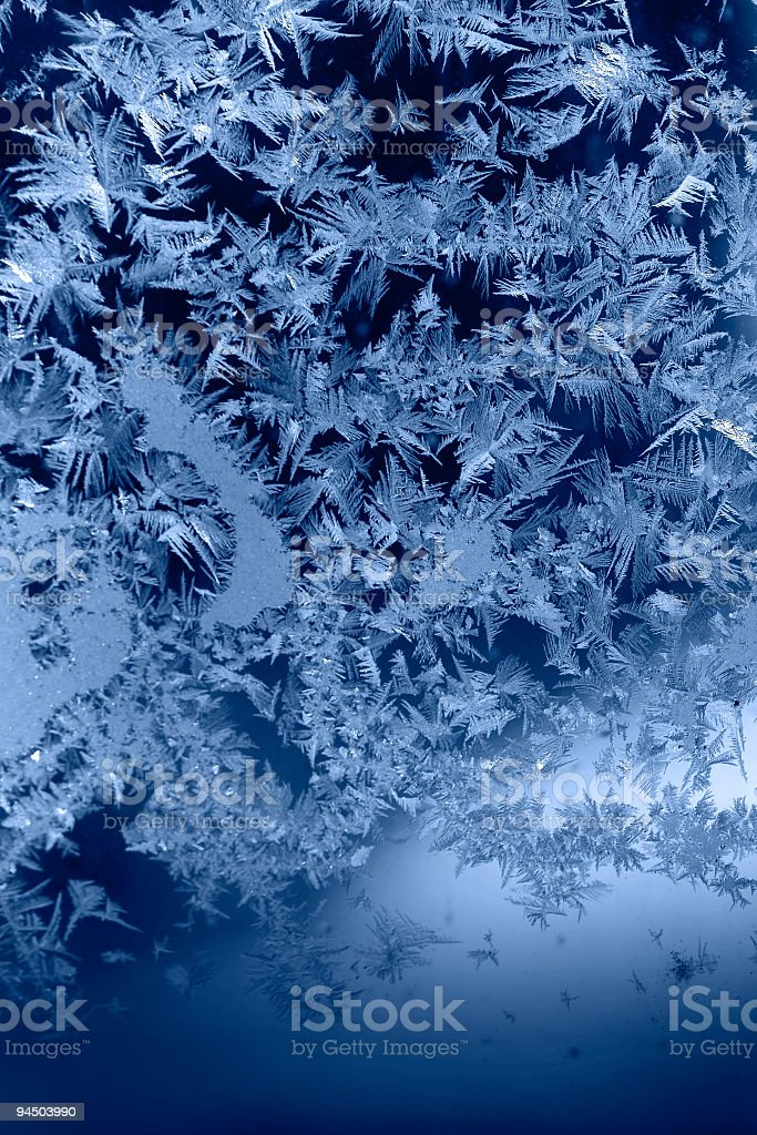 Abstract Frost Background royalty-free stock photo