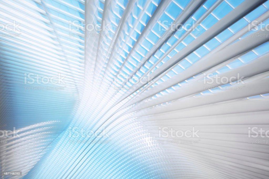 Abstract Futuristic Architecture stock photo