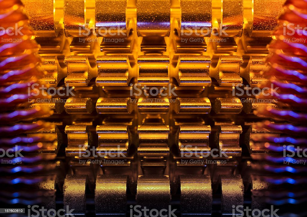 Abstract Futuristic Background royalty-free stock photo