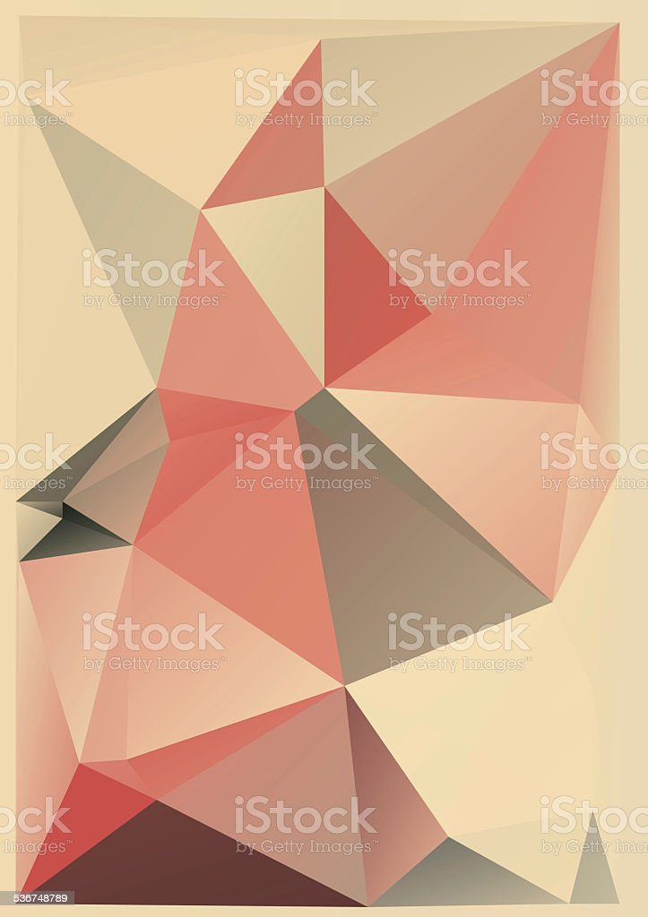 Abstract geometric background stock photo