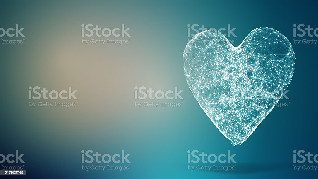 Abstract geometric composition stock photo