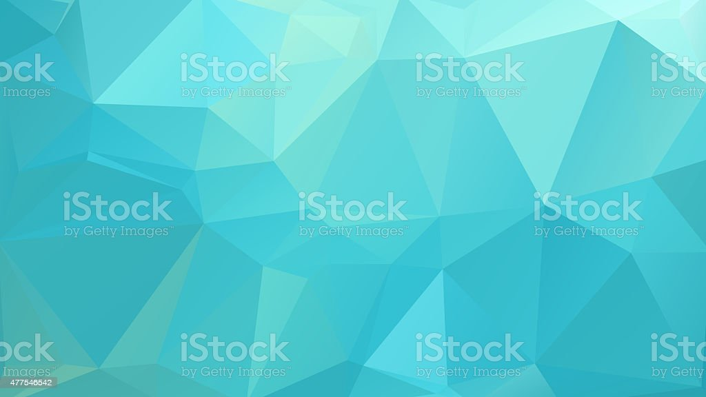 Abstract geometric polygon patter stock photo
