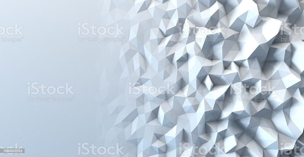 Abstract geometric polygonal background stock photo