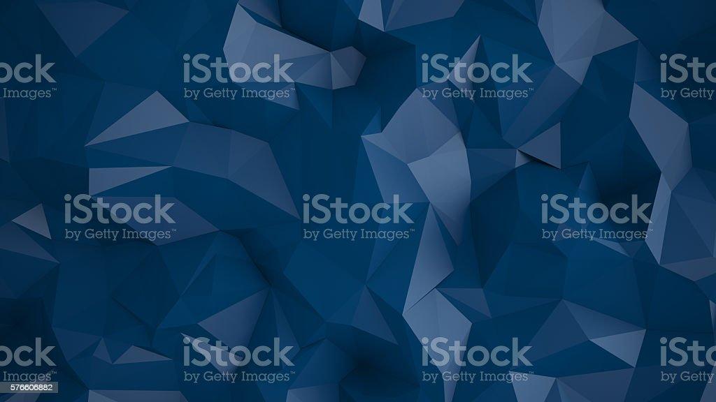 Abstract geometric polygonal background stock photo