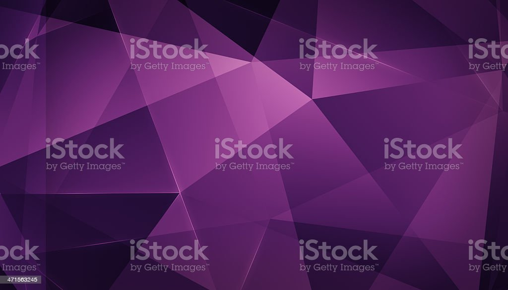 Abstract geometric triangle background. Pink Version. stock photo