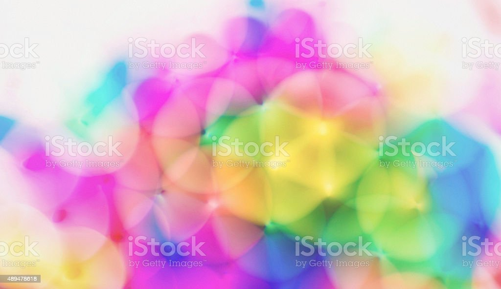 Abstract geometrical circular background stock photo