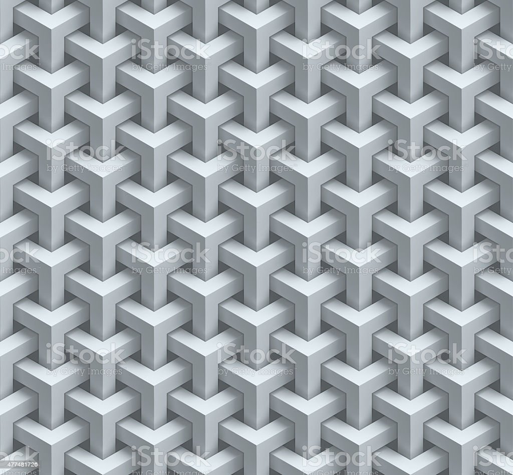 abstract geometrical seamless 3d background stock photo