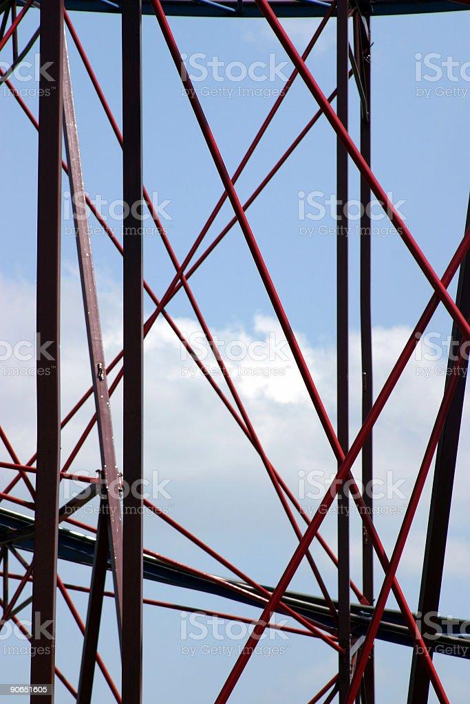 Abstract girder royalty-free stock photo