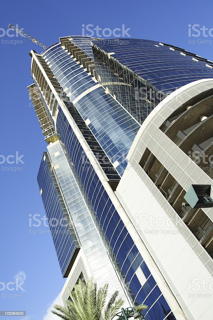 Abstract Glass Building royalty-free stock photo