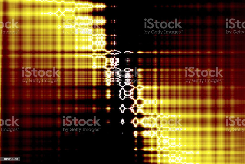 Abstract glow Twist background with fire flow royalty-free stock photo