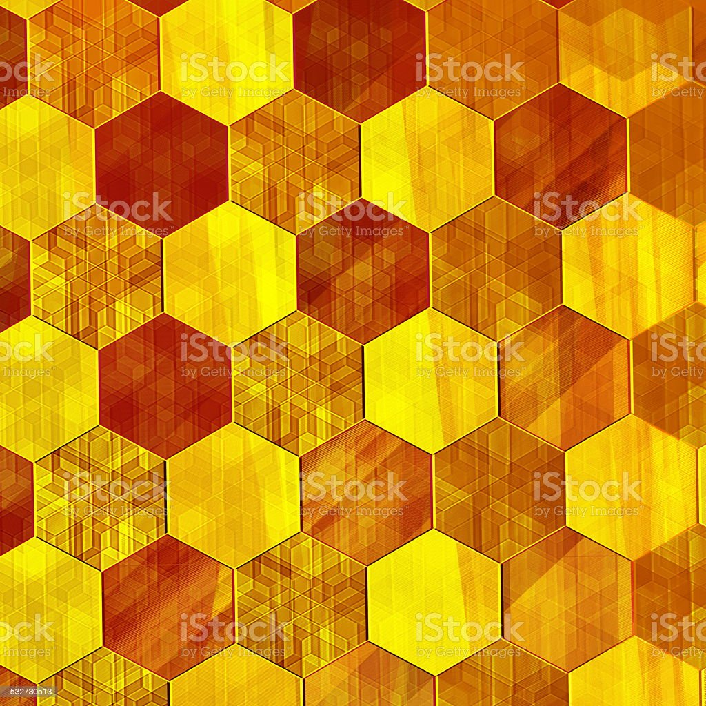 Abstract Gold Background. Modern Design. Warm Yellow Color Tone. Vintage. stock photo