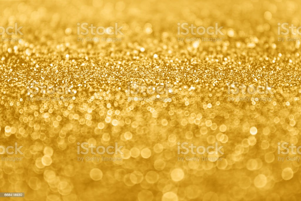 Abstract Gold Glitter Sequin Sparkle Background stock photo