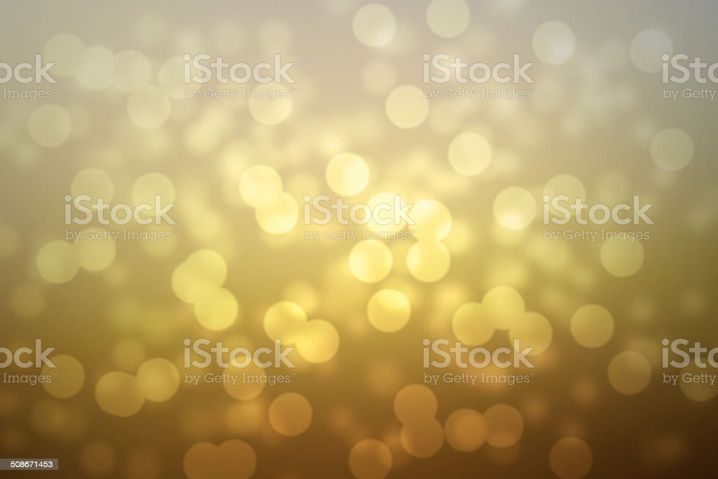 abstract golden bokeh background stock photo