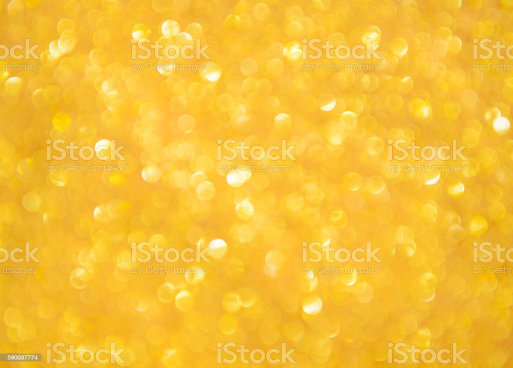 Abstract golden defocused background stock photo