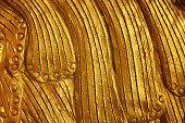 abstract golden texture