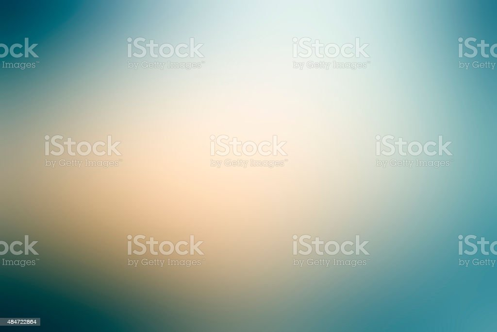 Abstract gradient background with blue and green colors stock photo