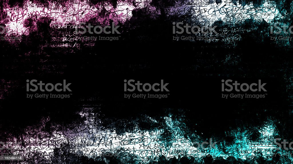 Abstract Graffiti Grunge Background royalty-free stock photo