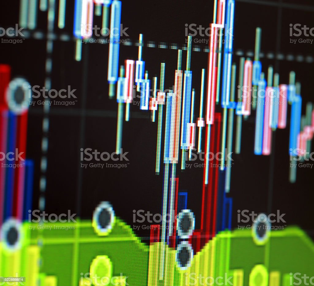 Abstract graphics stock photo